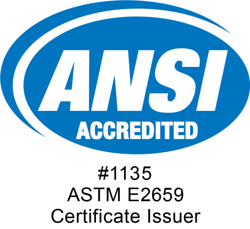ANSI Accredited Program Certificate Issuer