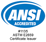 ANSI Accredited Issuer - Accreditation #1135