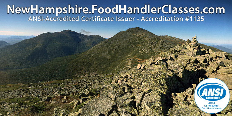 New Hampshire Food Handler Classes