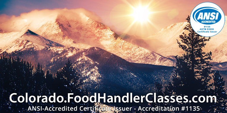 Visit Colorado.FoodHandlerClasses.com