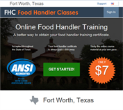 https://FortWorthTX.FoodHandlerClasses.com