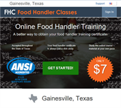https://GainesvilleTX.FoodHandlerClasses.com